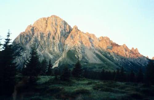 Sunrise on Mount Lastroni,...