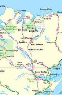 Road Map to Ben Klibreck