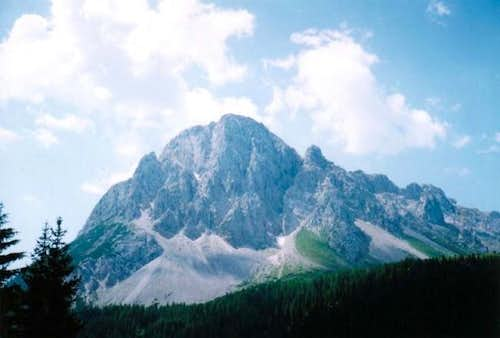 Monte Lastroni, at south of...