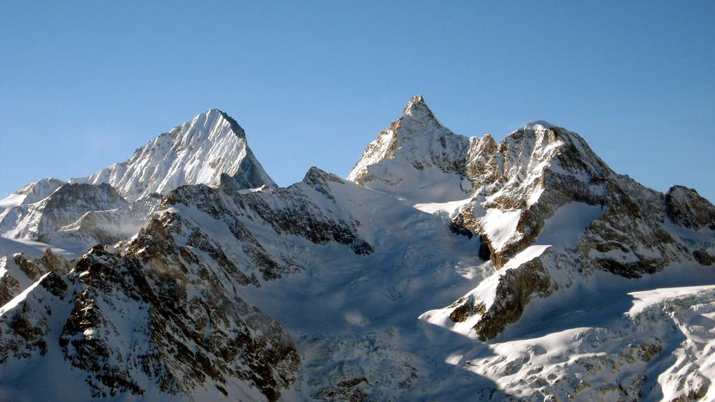 Dent Blanche and Obergabelhorn