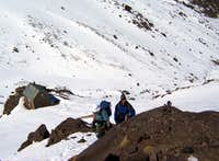 Tazaghart Hut from above