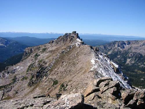Majestic Marten Peak from the...