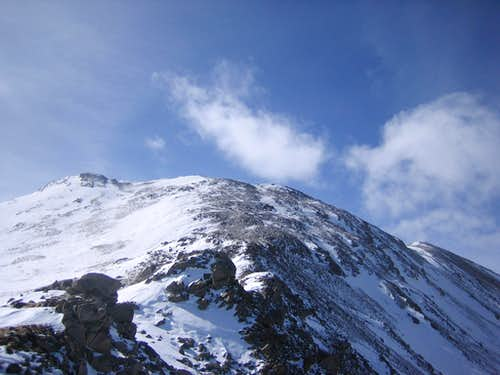 Mount Massive: Winter Ascent from the Leadville Fish Hatchery TH