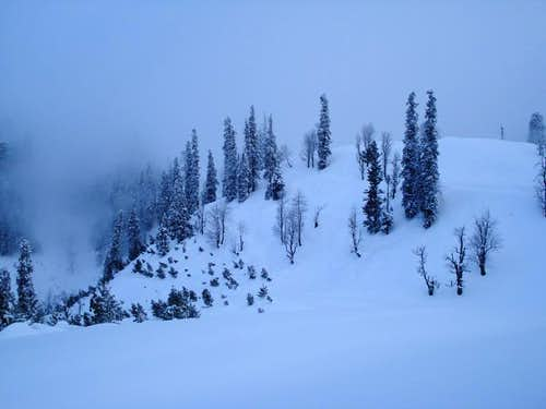 Kaghan Valley in winter 2008