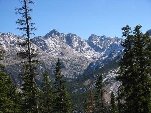 Piaute Peak and Mount Toll...