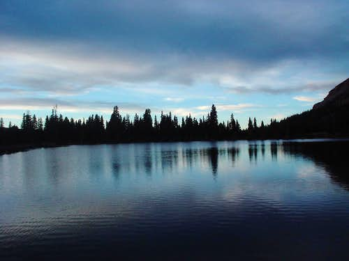 Dollar Lake at Dusk