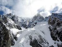 Massif Mont Blanc from Miage glacier II