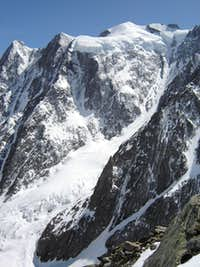 Massif Mont Blanc from Miage glacier III