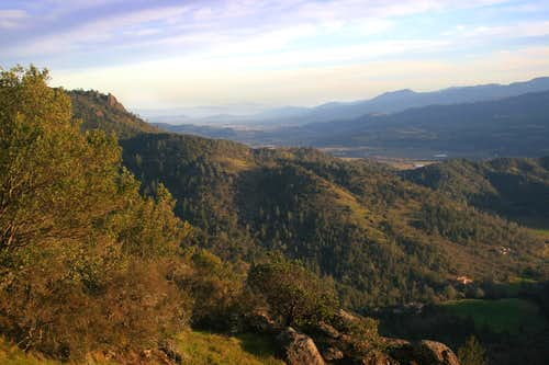 Oat Hill Mine Road