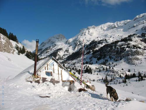 Mountain hut Bijele vode on Prenj Mountain
