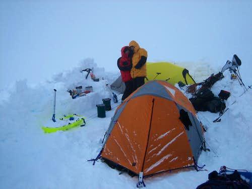 McKinley - Love Birds at 14K camp (Camp IV)