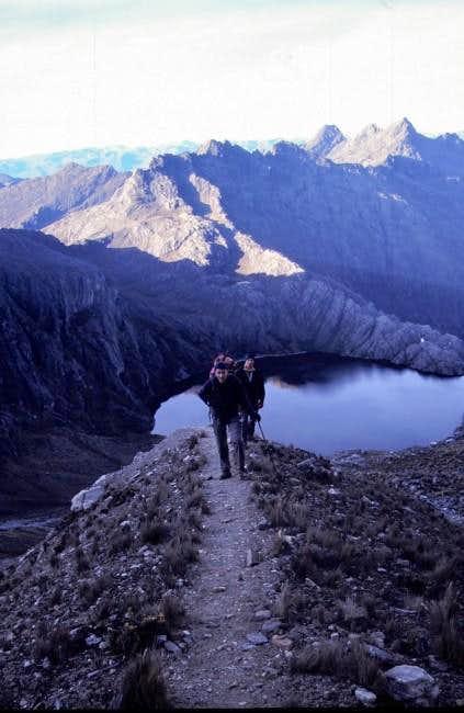 towards the Venezolan snowline