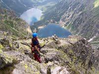 Descent from Volia veža / High Tatra