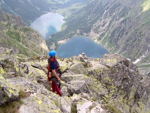 Descent from Volia veza / High Tatra by