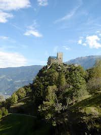 Reinhold Messner´s castle Juval / Italy