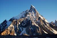 this is Mitre Peak(6010m)