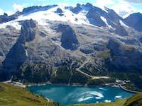 Lago di Fedaia / Dolomity / Italy