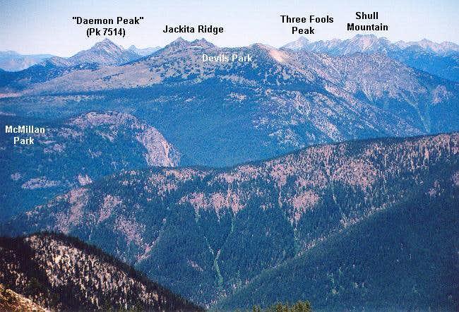 Jackita Ridge fr south