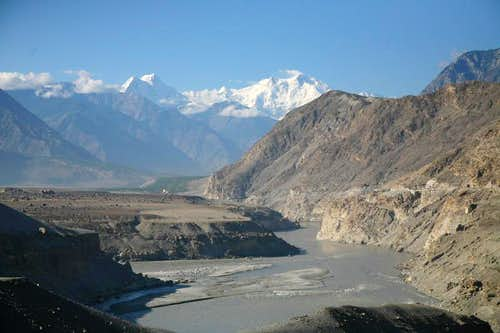 Beautiful view from KKH, Karakoram, Pakistan