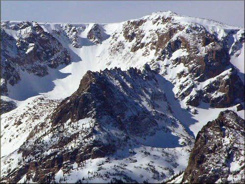Little Matterhorn from Deer Mountain