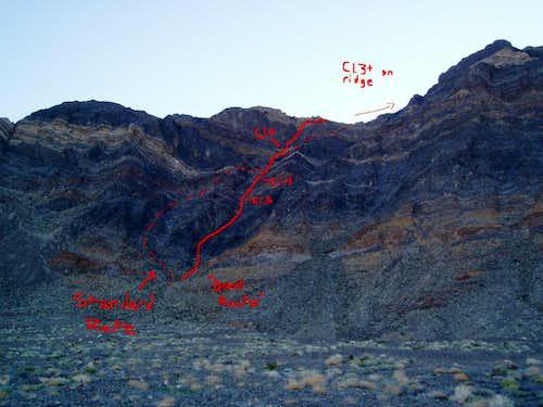 Eagle Mountain route topo