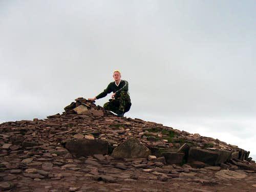 Corn Du Summit-Cairn 873metres