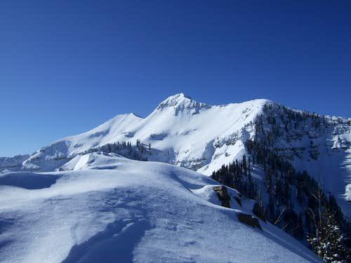 Winter ascent via northeast ridge