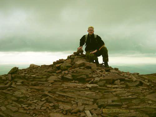 Pen y Fan Summit-Cairn 886metres