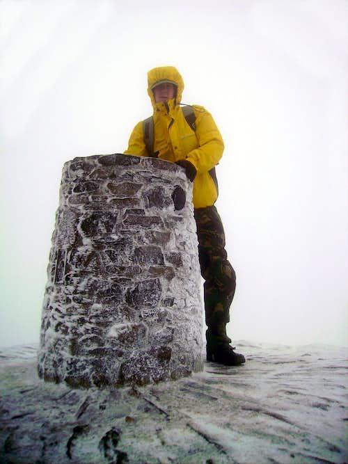 Snowdon Trig 1085metres