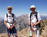 Hyrum and me at the summit of Cascade Mountain