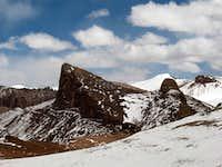 Rock peak 5850m