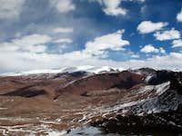 Summit view NNE
