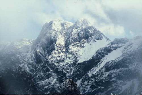 East Peak of Yun Shan (3869m)