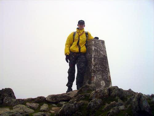 Garnedd Ugain Trig 1065metres