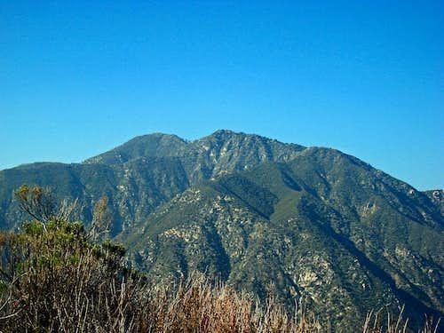 Condor Peak and Fox Peak