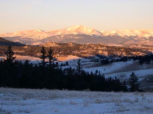 Mount Silverheels at 7:30...