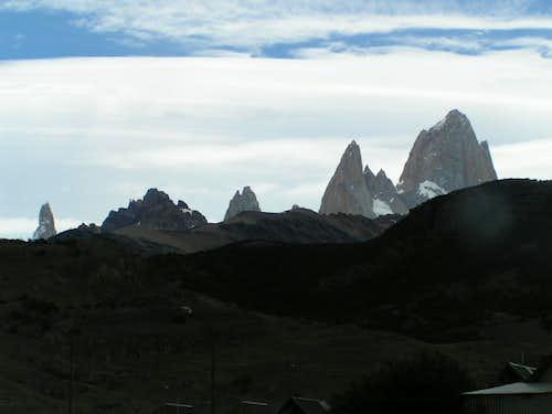 Fitz Roy e Cerro Torre da El Chalten