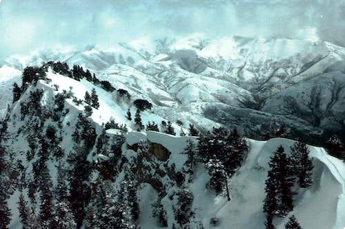 NE ridge Cascade Mtn