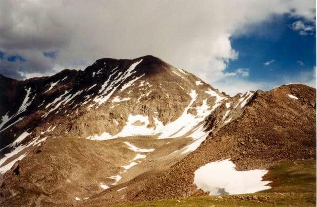 Drift Peak from Gold Hill....