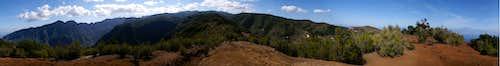 360° panorama from Lomo Gordo