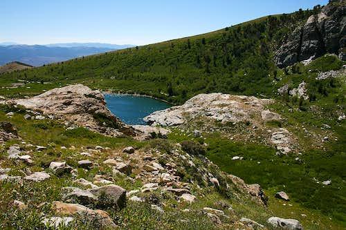 Greys Peak east route view
