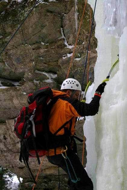 Climbing Mini Me Waterfall Ice