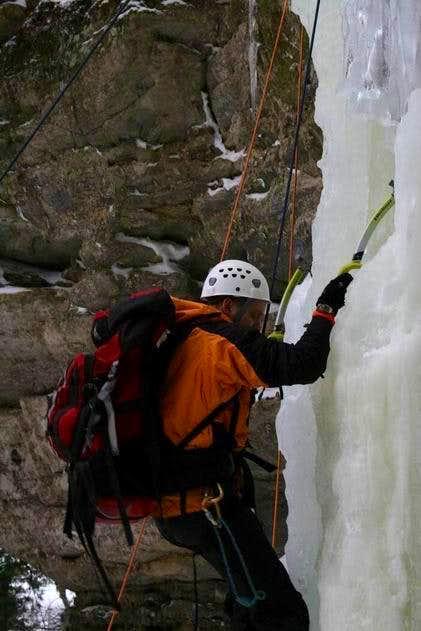 Climbing Mini Me Waterfall Ice