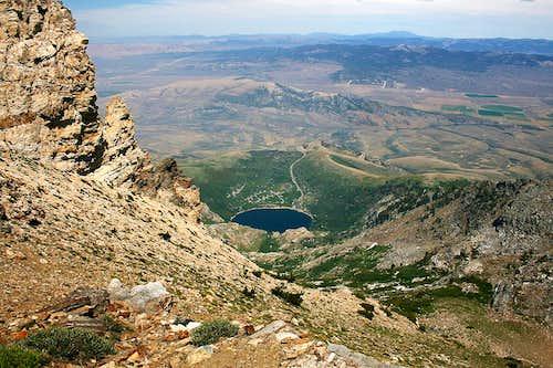 Angel Lake from Greys Peak