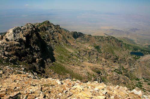 Greys Peak summit view