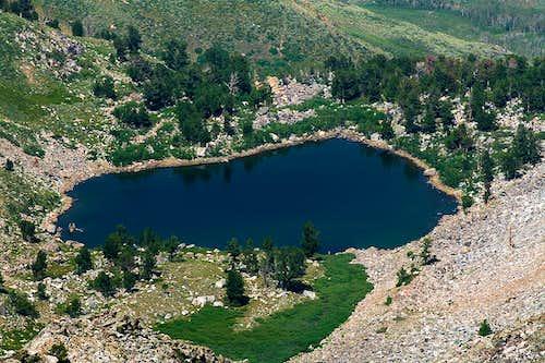 Smith Lake from Greys Peak