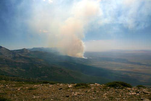 East Humboldt wildfire