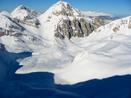Monte Corvo (2623 m) and...