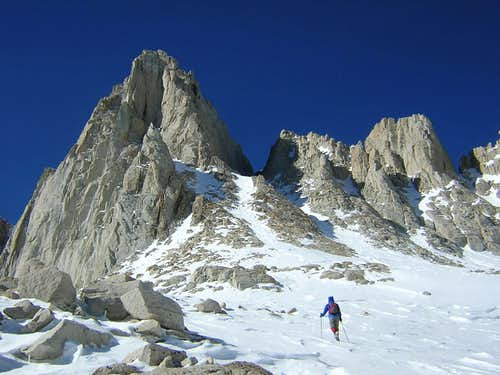 Sierras - Mountaineer\'s route
