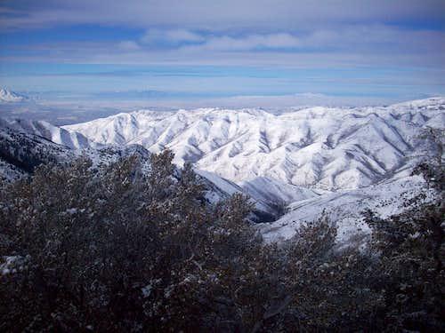 Foothills East of Salt Lake City